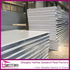 100mm Color Steel Expanded Plystyrene EPS Sandwich Panel for Wall pictures & photos