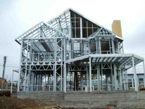 Light Gauge Steel Construction Components C & U Steel Frame & Purline Roll Forming Machine pictures & photos