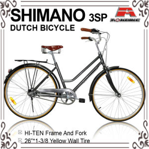 26 Inch Inner 3 Speed Oma Dutch Bicycle (AYS-2632S) pictures & photos
