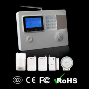 Wireless Home Alarm Panel with GSM/PSTN Dual-Network System (WL-JT-99S) pictures & photos