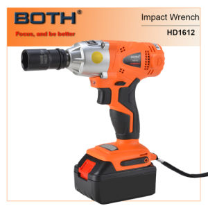 4.0ah Li-ion Power Tools Impact Wrench (HD1612B) pictures & photos