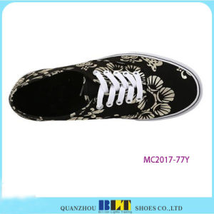 High Qulaity Fabic Upper Casual Shoes with Printing pictures & photos