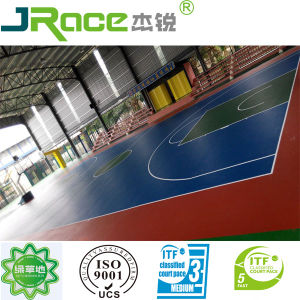 Guangdong Supplier Multi Function Indoor Sport Court Surface Material pictures & photos