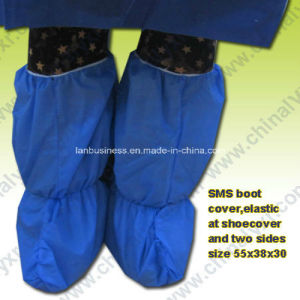 Ly Nonwoven PP Boot Cover, SMS Boot Cover pictures & photos