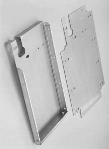 Metal Sheet Processing Metal Box Sheet Metal Enclosure