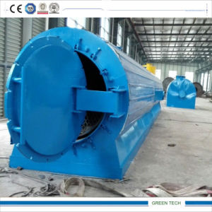 Long Pyrolysis Reactor Tire Recycling Machinery 15ton pictures & photos