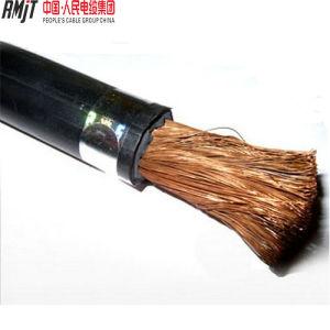 Flexible Copper /CCA Conductor PVC Sheath Black Welding Cable pictures & photos