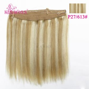 100% Human Hair Extensoin Remy Human Hair pictures & photos