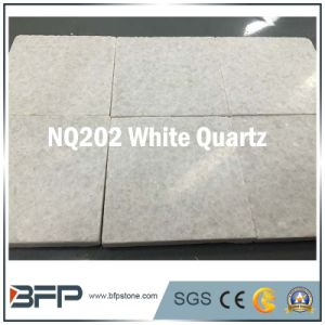 Flamed & Honed Cheap White Natural Stone Quartz Paving Garden Kerbstone pictures & photos