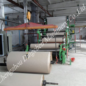 Small Scale Fluting Paper Making Machine (Dingchen-1575mm) pictures & photos