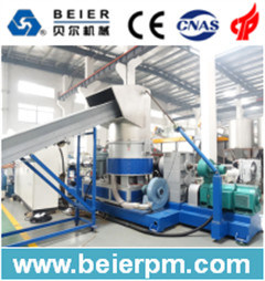 Strand Type PE/PP Plastic Film/Bag Recycling and Pelletizing/Granulation Agglomeration Production Line pictures & photos
