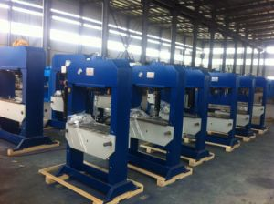 Electric Hydraulic Press Machine with Gauge pictures & photos