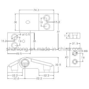 Aluminium Hinge for Doors and Windows/Hardware (SH-554) pictures & photos