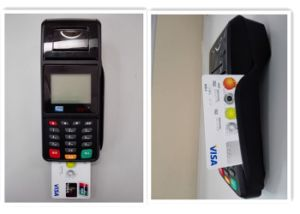 PCI EMV IC Card Reader POS with WiFi Modem pictures & photos