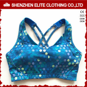 OEM Service Sexy Plus Size Printed Sport Bra Yoga pictures & photos