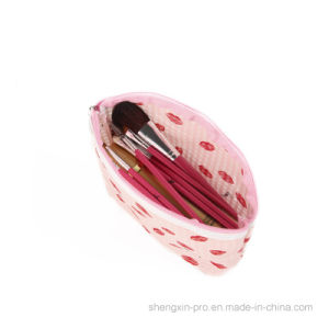 Fashion PU Cosmetic Bag with Spots Printing pictures & photos