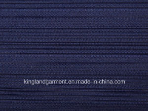 Polyester Quality Jacquard Striped Design Wide Width Table Cloth pictures & photos