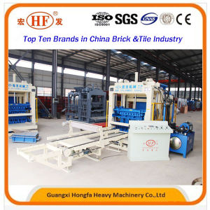 Hydraulic Station Concrete Hollow Block Making Machine (QT8-15) pictures & photos