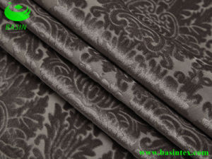 Burnt-out Polyester Sofa Fabric (BS4034) pictures & photos