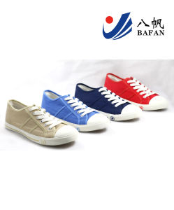 Men Fashion Casual Canvas Flat Running Travlling Shoes (bfm0386) pictures & photos