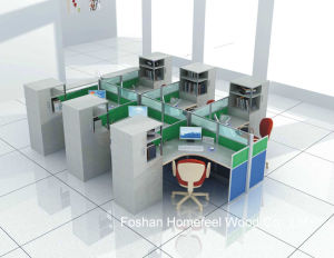 Fashion Office Cubicle Modern Design Office Workstation (HF-YTQ006) pictures & photos