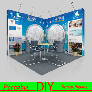 Custom Made Portable&Reusable Trade Show Booth Exhibition Booth pictures & photos