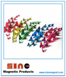 Multicolor Three-Dimensional Simulation of Butterfly Fridge Magnet pictures & photos