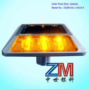 Solar Powered Road Stud / LED Flashing Road Marker / Cat Eye pictures & photos