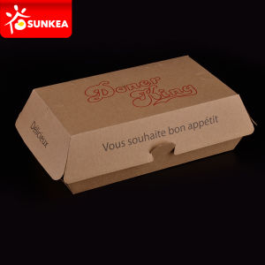 Disposable Color Printed Paper Package Box for Food pictures & photos