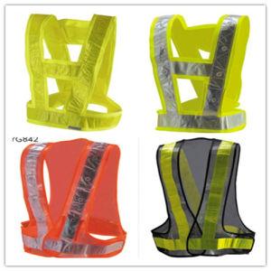 Safety Vest PVC Reflecetive Tape pictures & photos