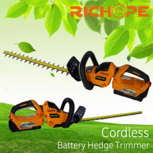 Cordless Hedge Trimmer 58V Battery Power Tools pictures & photos