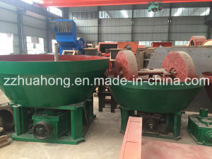 Two Roller Wet Pan Mill for Gold Extraction pictures & photos