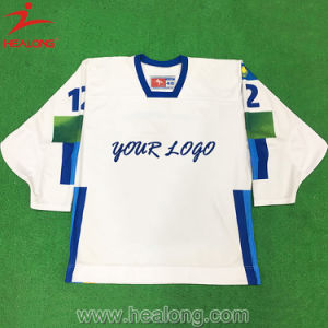 Healong Fashion Sportswear Dye Sublimated Mens Printing Ice Hockey Jersey pictures & photos