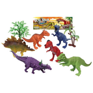 6PCS Plastic Promotion Dinosaur Toys (10257641) pictures & photos
