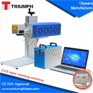 Ce FDA Manufacture CO2 Laser Marking Machine for Non-Metal