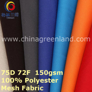 Mesh 100%Polyester Knitted Fabric for Sportswear Shirt (GLLML400) pictures & photos