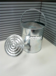 5L Galvanized Zinc Metal Watering Can for Garden, Metal Watering Pot pictures & photos