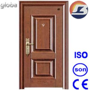 Panel Design Solid Wooden Door pictures & photos