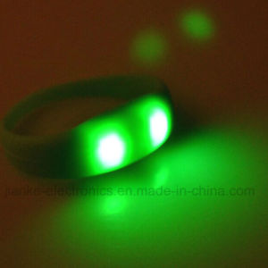 Popular Glowing Club LED Bracelet with Logo Print (4010) pictures & photos