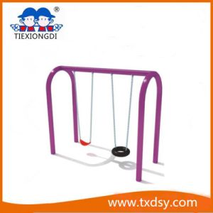 Playground Funny Kids Double Seats Children Swing Set pictures & photos