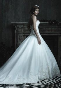 Dream Wedding Strapless Sweetheart Bride Dress (Dream-100027) pictures & photos