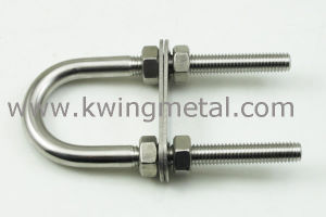 Stainless Steel U Bolt with Two Nuts & Two Washer pictures & photos
