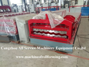 High-Efficiency Color Steel Glazed Roof Tile Roll Forming Machine