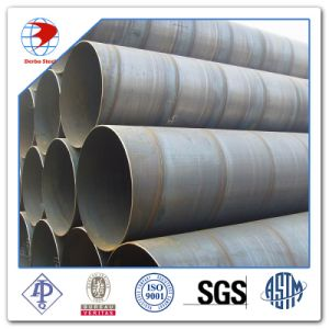 SSAW Welded Spiral Steel Pipe/Q235 Carbon Spiral Steel Pipe 219mm-1620mm pictures & photos