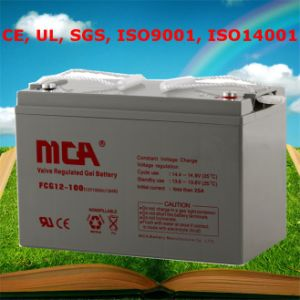 Good Quality Gel Cell Batteries 12V 100ah Solar Battery pictures & photos