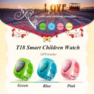 Gelbert GPS Sos Kids Smart Watch for Android Ios pictures & photos