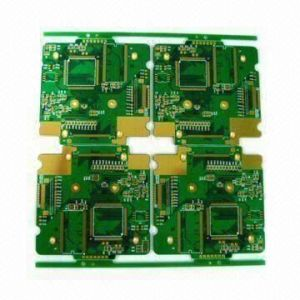 4 Layer PCB Board with Enig, 0.12/0.12mm Min Line Width/Trace
