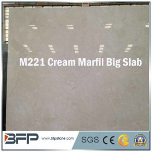 Marble Sotne Cream Marfil Marble for Tiles/Slabs pictures & photos