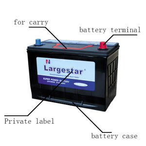 MF Car Battery Automotive Battery Lead Acid Battery (MF NS70) pictures & photos