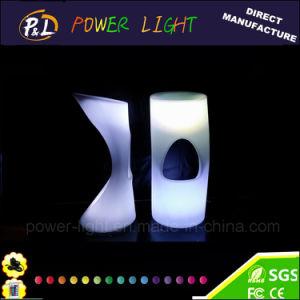 Lounge Furniture Plastic Illuminated RGB Bar Stool pictures & photos